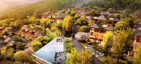 中国西部休闲避暑养生基地项目
