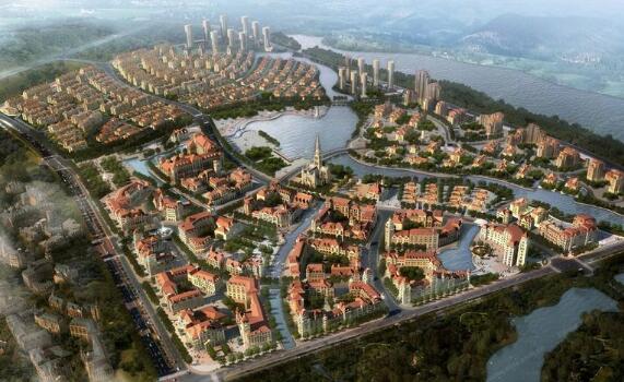 九江市八里湖新区国际度假村项目