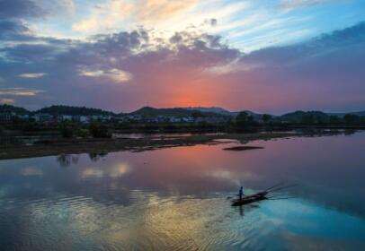 仙女湖江口旅游小镇