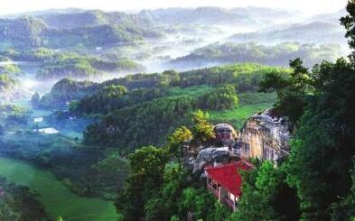 内江市威远县俩母山穹窿古砦旅游区项目