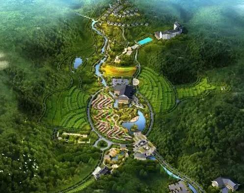 内江市市中区白马古海盐泉国家乡村公园建设项目