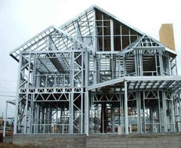 冷弯薄壁型钢集成房屋生产项目