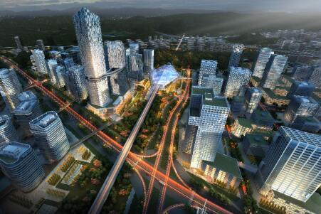 凤凰县高铁新区城市综合体建设项目