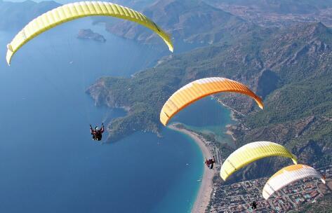 动力滑翔伞高空观景基地开发项目