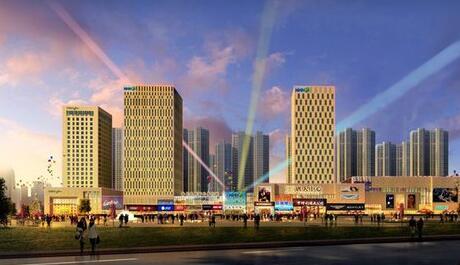 南充市顺庆区潆华路城市商业综合体项目