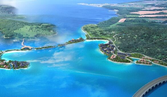 合水金银湖生态养生城项目