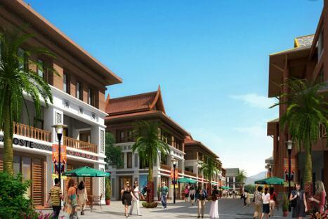 宁明县华侨农场东南亚风情街建设项目