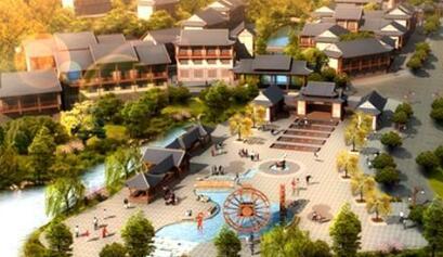 安口镇特色小镇旅游商品一条街建设项目