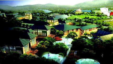 安福县羊狮慕康养特色小镇项目