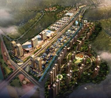 巴中市平昌县金宝新区国际商贸城建设项目