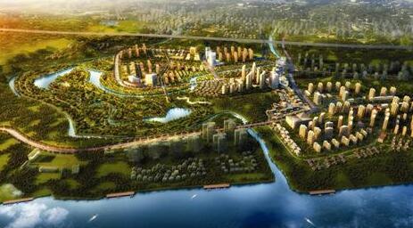 广安市岳池县岳池高新区智能生态新城项目