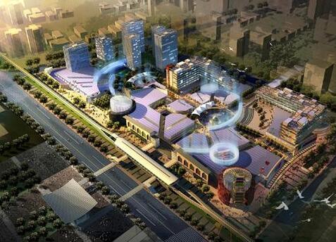 德阳市经开区汽车主题城市综合体项目