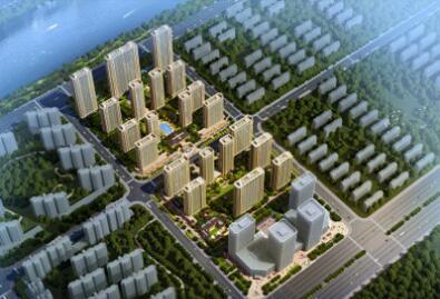 德阳市罗江区绿城房地产开发项目