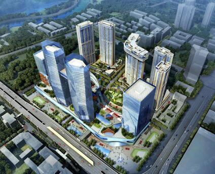 成都市武侯区绿地GIC成都中央广场项目