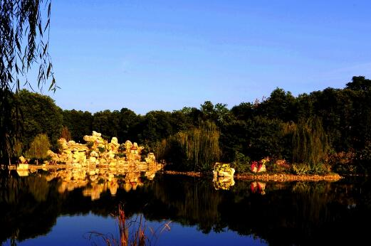 承留镇南山公园旅游项目