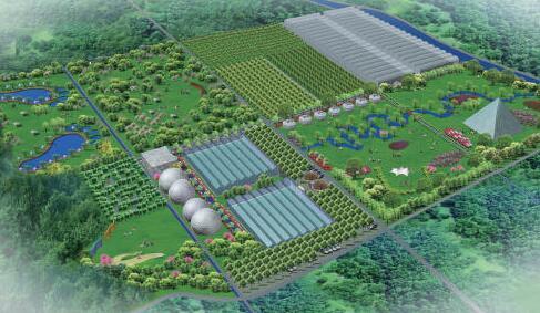 新余高新区环城路十万亩农业产业化项目