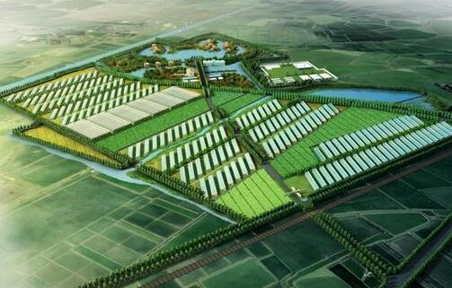 明花乡综合科技农业示范园区项目