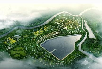 河南信阳潢川经开区弋阳湿地公园项目
