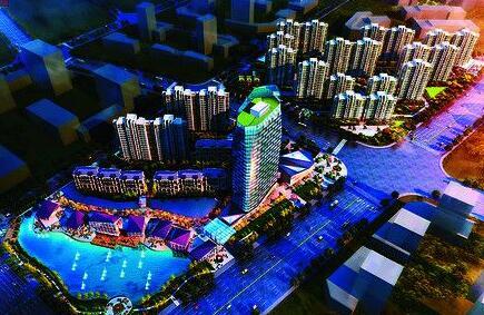 河南省鹤壁市城乡一体化示范区鹤壁国际小商品城建设项目