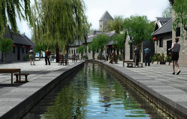 济水文化小镇
