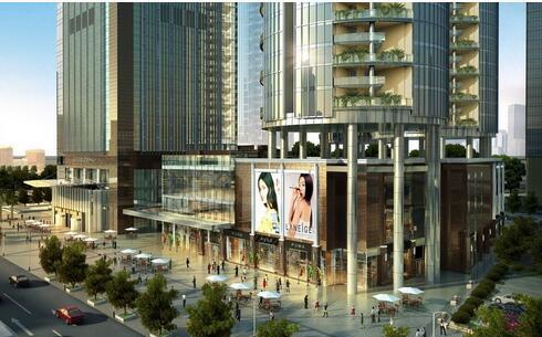 现代金融中心及SHOPPING MALL购物中心项目