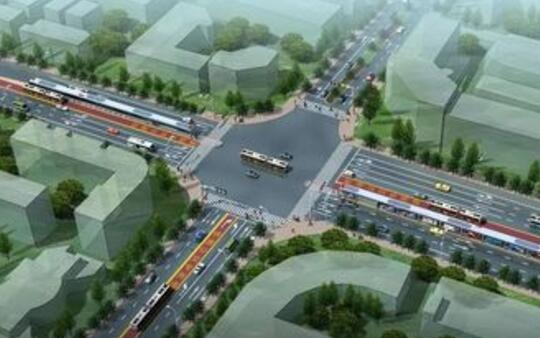 盖州市城市道路建设与修缮工程项目