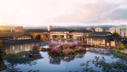 眉山市东坡区白堰湖生态养老基地项目