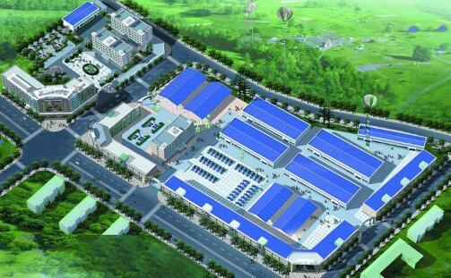 红塔工业园区农产品冷链物流配送中心项目