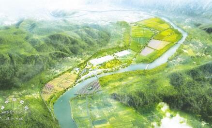 绵阳市游仙区花岛农业综合开发项目