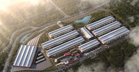 自贡市高新区先进轨道交通装备产业园项目