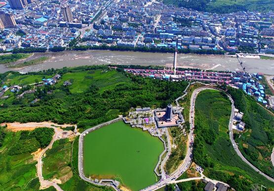 荥经县小坪山、牛头山坡型带状公园建设项目