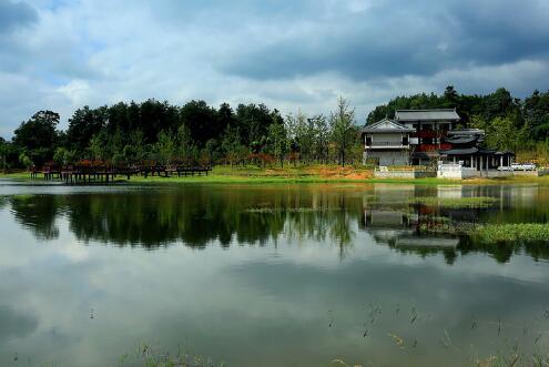 萍水湿地公园新区项目