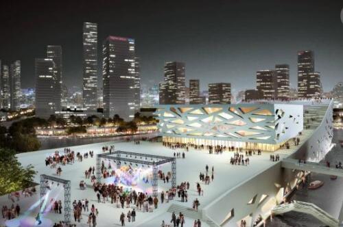 营口东部新城文化艺术中心项目