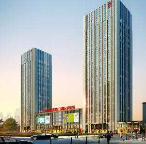 诸暨港龙喜临门国际装饰城项目