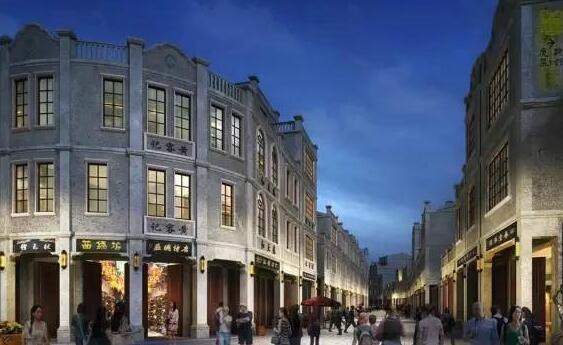 贵港市中心城区骑楼街区改造项目