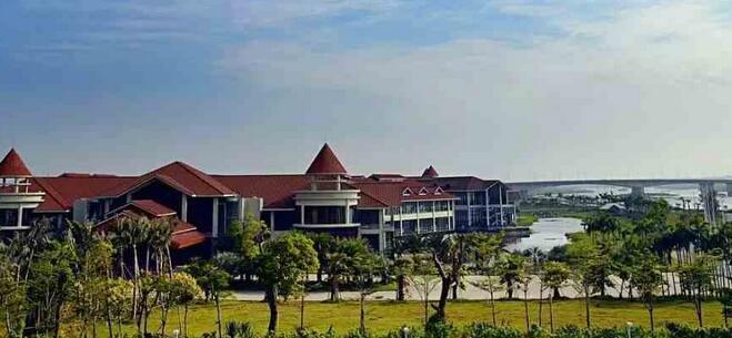 钦州市滨海新城沙井岛旅游度假中心项目