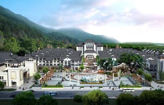 鸭绿江青石风情小镇项目