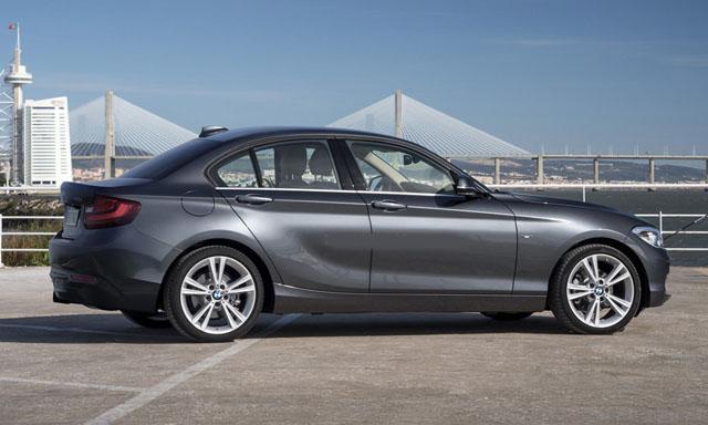 宝马1系轿车版的动力配置将会和新一代MINI Cooper车型共享,包括1.高清图片